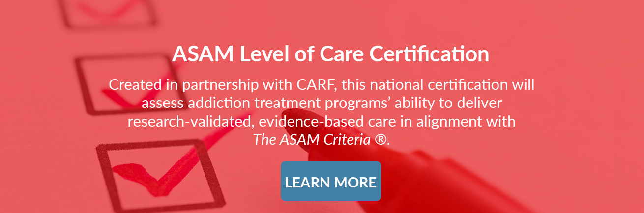 ASAM Level of Care Cert final