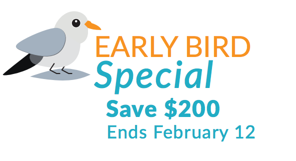 early-bird rates