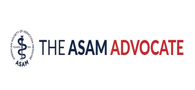 The ASAM Advocate Header